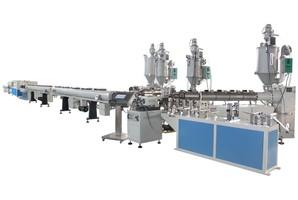 Линия для производства трёхслойных армированных труб SJ PPR16-63