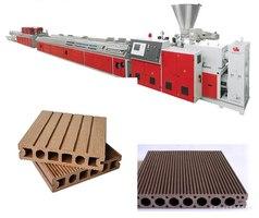 Линия для производства профиля из древесно-полимерного композита SJSZ-65/132