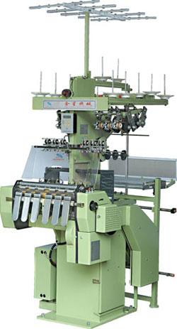 Общий вид ткацкого станка для изготовления текстильных строп.